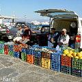 Photos: ミコノスの市場
