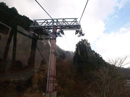 箱根ロープウェイの景色1