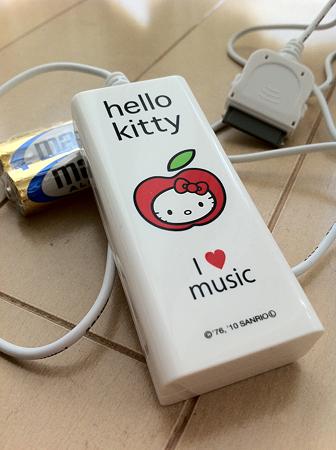 キティちゃん充電器♪