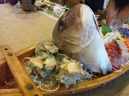リゾートイン白浜 夕食