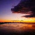 Photos: 夕刻の静かな海