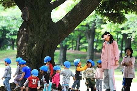 2010.05.14 大和市 引地台公園 先生に質問