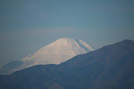 2011.01.02 散歩道 富士山