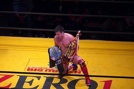 2011.03.06 両国国技館 ZERO1 新世界チャンピオン