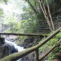 Photos: 釜滝への吊り橋