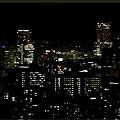 札幌旭山記念公園の夜景リベンジーjkタワー(jr