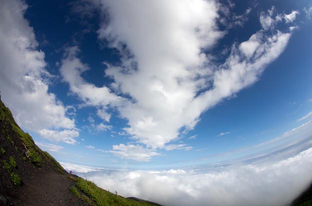 プチ富士登山10