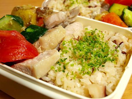 ちゅうちゅうタコちゅうちゅう、蛸飯弁当
