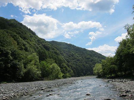 三峰川(長野県伊那市長谷地区)