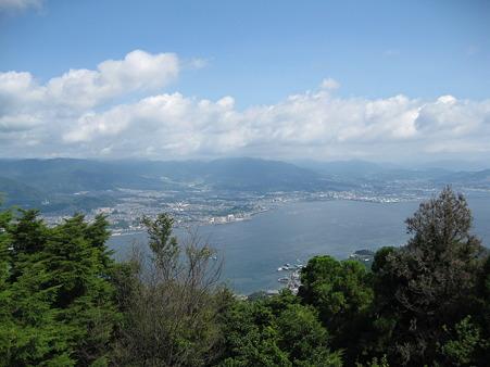 100815 宮島 弥山の頂上から その2