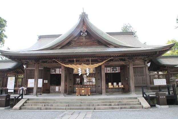 写真: 100511-99九州ロングツーリング・阿蘇神社3