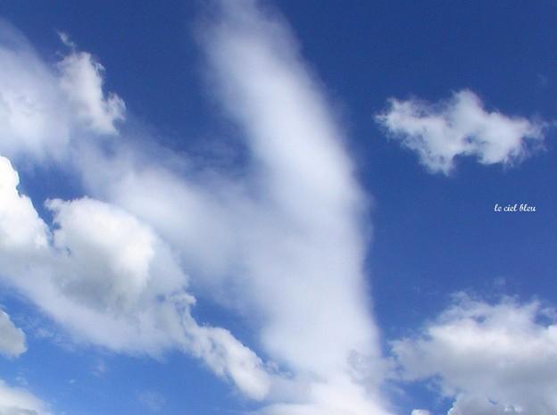 優しい雲...