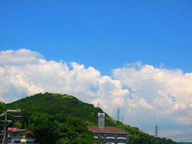 見上げれば入道雲~初夏の頃~