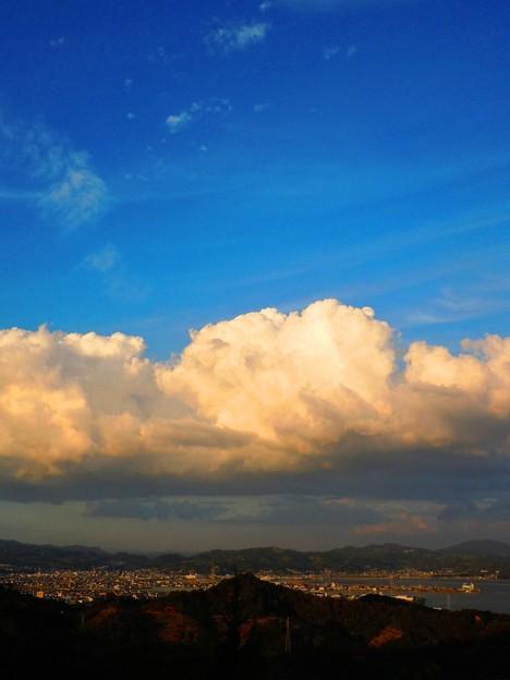 松永湾の夕景