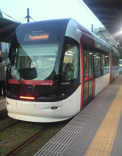 富山ライトレールTLR0600形 6