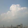 Photos: 白雲と薄いスカイツリーw