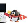 写真: USB2.0ペンギン型4ポートハブ2