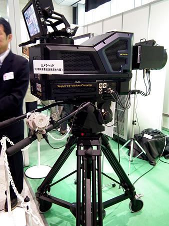 スーパーハイビジョンカメラ