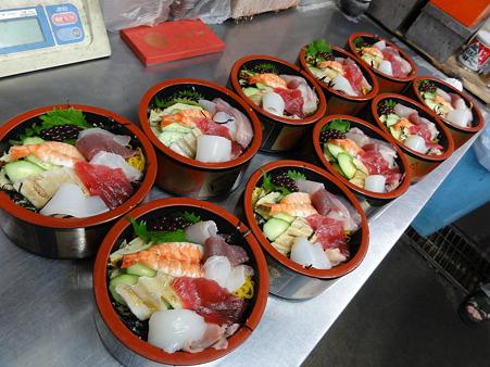 ちらし寿司10人前の準備