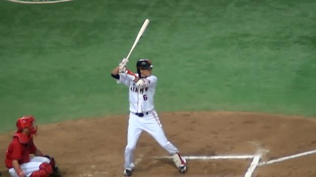 満塁で坂本さんが バッターだっちゃ☆