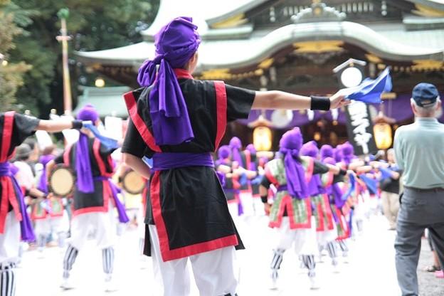 奉納 エイサー踊り3