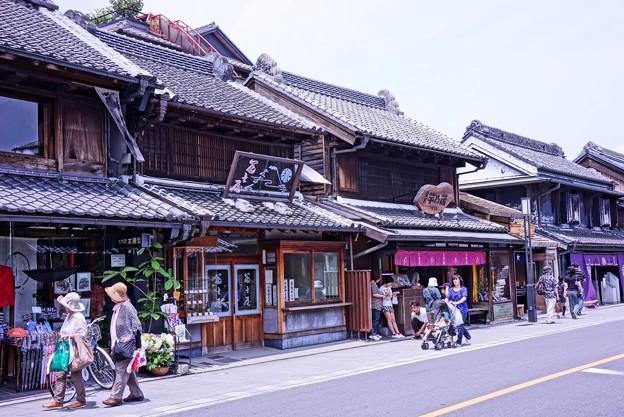 HDR 川越蔵造の町並み(1)・・20120624