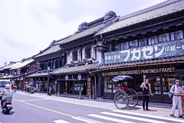 HDR 川越蔵造の町並み(2)・・20120624