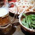 Photos: メガポテト♪ビールがすすむ!