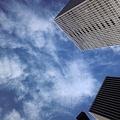 Photos: 大阪はいい雲が出ています。