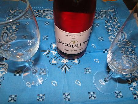 スパークリングワインロゼ
