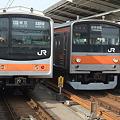 武蔵野線205系の並び